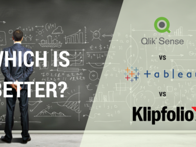 Which Data Visualization Tool Is Right For Your Business – Tableau, Qliksense Or Klipfolio?